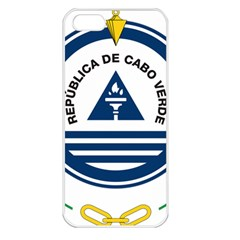 National Emblem of Cape Verde Apple iPhone 5 Seamless Case (White)