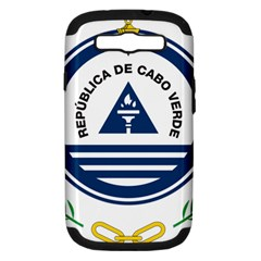 National Emblem of Cape Verde Samsung Galaxy S III Hardshell Case (PC+Silicone)