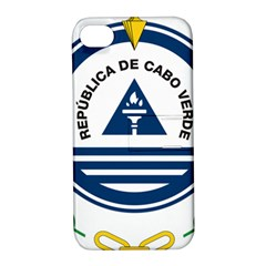 National Emblem of Cape Verde Apple iPhone 4/4S Hardshell Case with Stand