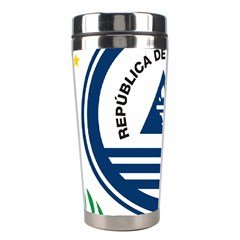 National Emblem of Cape Verde Stainless Steel Travel Tumblers
