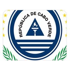 National Emblem of Cape Verde Double Sided Flano Blanket (Large)