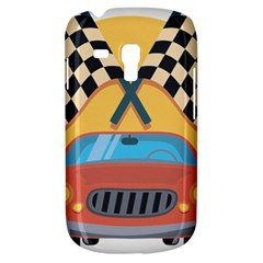 Automobile Car Checkered Drive Galaxy S3 Mini