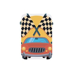 Automobile Car Checkered Drive Apple iPad Mini Protective Soft Cases
