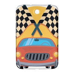 Automobile Car Checkered Drive Samsung Galaxy Note 8.0 N5100 Hardshell Case