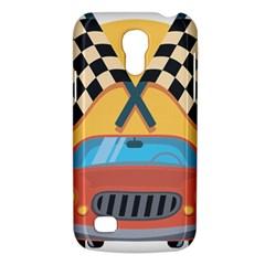 Automobile Car Checkered Drive Galaxy S4 Mini