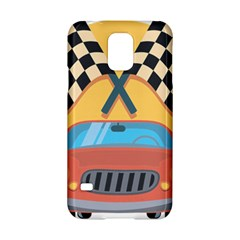 Automobile Car Checkered Drive Samsung Galaxy S5 Hardshell Case