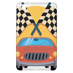 Automobile Car Checkered Drive Samsung Galaxy Tab Pro 8.4 Hardshell Case