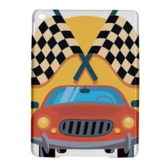 Automobile Car Checkered Drive iPad Air 2 Hardshell Cases