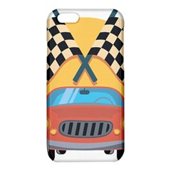 Automobile Car Checkered Drive iPhone 6/6S TPU Case