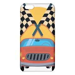 Automobile Car Checkered Drive iPhone 6 Plus/6S Plus TPU Case