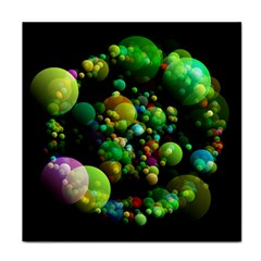 Abstract Balls Color About Tile Coasters