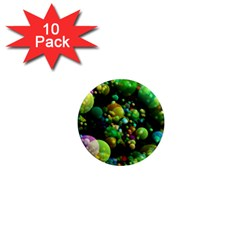 Abstract Balls Color About 1  Mini Magnet (10 pack)