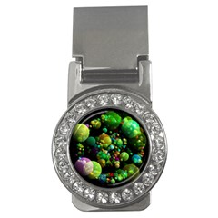 Abstract Balls Color About Money Clips (CZ)