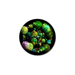 Abstract Balls Color About Golf Ball Marker (4 pack)