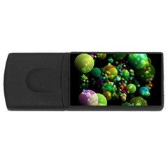 Abstract Balls Color About USB Flash Drive Rectangular (1 GB)
