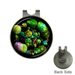 Abstract Balls Color About Hat Clips with Golf Markers