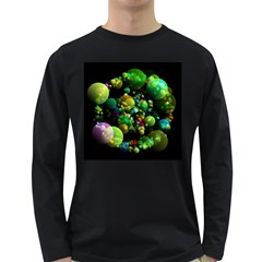 Abstract Balls Color About Long Sleeve Dark T-Shirts