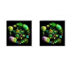 Abstract Balls Color About Cufflinks (Square)