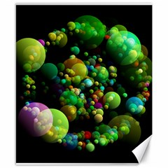Abstract Balls Color About Canvas 8  x 10