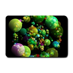 Abstract Balls Color About Small Doormat