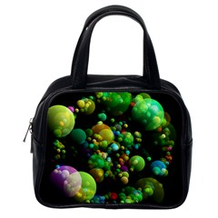 Abstract Balls Color About Classic Handbags (One Side)