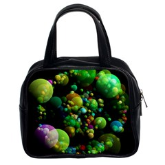 Abstract Balls Color About Classic Handbags (2 Sides)