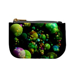 Abstract Balls Color About Mini Coin Purses