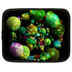Abstract Balls Color About Netbook Case (XXL)