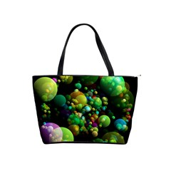 Abstract Balls Color About Shoulder Handbags
