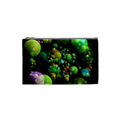 Abstract Balls Color About Cosmetic Bag (Small)