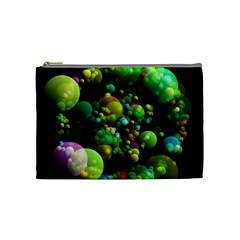 Abstract Balls Color About Cosmetic Bag (Medium)