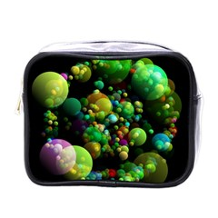 Abstract Balls Color About Mini Toiletries Bags