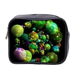 Abstract Balls Color About Mini Toiletries Bag 2-Side