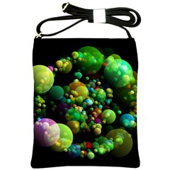 Abstract Balls Color About Shoulder Sling Bags