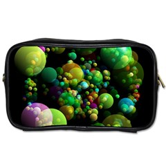 Abstract Balls Color About Toiletries Bags