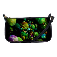 Abstract Balls Color About Shoulder Clutch Bags