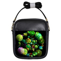 Abstract Balls Color About Girls Sling Bags