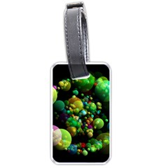 Abstract Balls Color About Luggage Tags (One Side)
