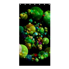 Abstract Balls Color About Shower Curtain 36  x 72  (Stall)