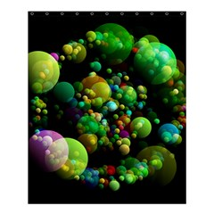 Abstract Balls Color About Shower Curtain 60  x 72  (Medium)