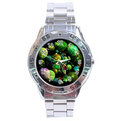 Abstract Balls Color About Stainless Steel Analogue Watch