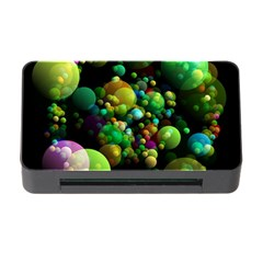 Abstract Balls Color About Memory Card Reader with CF