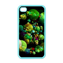 Abstract Balls Color About Apple iPhone 4 Case (Color)