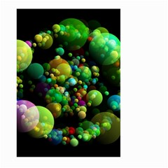 Abstract Balls Color About Large Garden Flag (Two Sides)