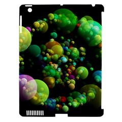 Abstract Balls Color About Apple iPad 3/4 Hardshell Case (Compatible with Smart Cover)