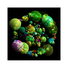 Abstract Balls Color About Acrylic Tangram Puzzle (6  x 6 )