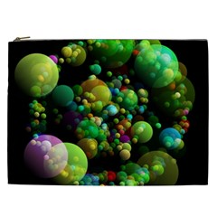 Abstract Balls Color About Cosmetic Bag (XXL)