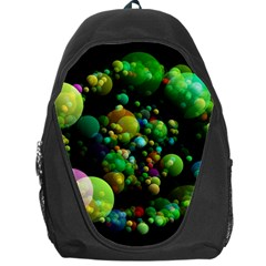 Abstract Balls Color About Backpack Bag