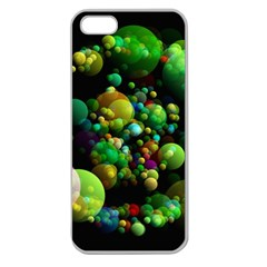 Abstract Balls Color About Apple Seamless iPhone 5 Case (Clear)