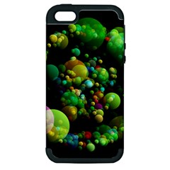 Abstract Balls Color About Apple iPhone 5 Hardshell Case (PC+Silicone)